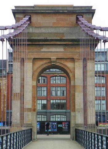 Suspension Bridge River Clyde