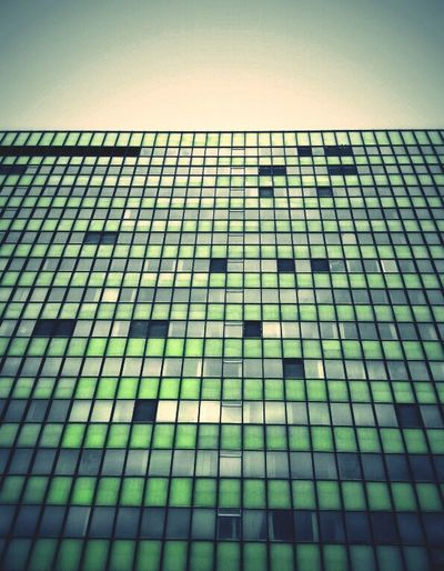 Filling The Gaps Architecture Green Windows Building Andrographer Vignette For Android Snapseed