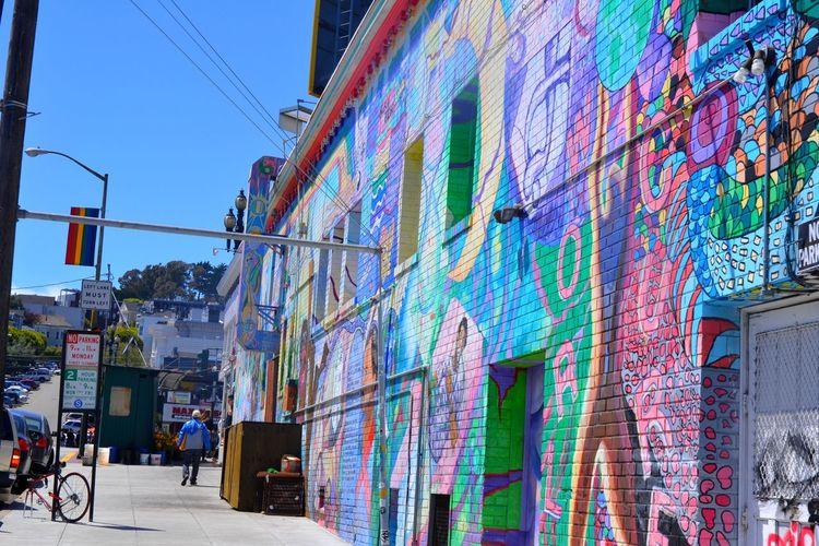 Castro Architecture Castro City Day Gay Pride Multi Colored No People Outdoors San Fancisco Bay San Francisco Sky