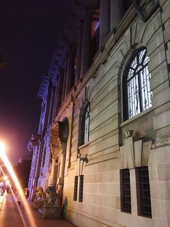 History Architecture Built Structure Building Exterior Window History No People Illuminated Outdoors City Night