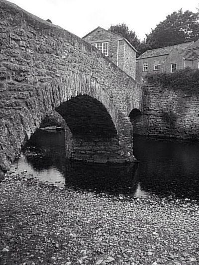 Franks bridge in Kirby Stephen river Eden Eyem Black And White