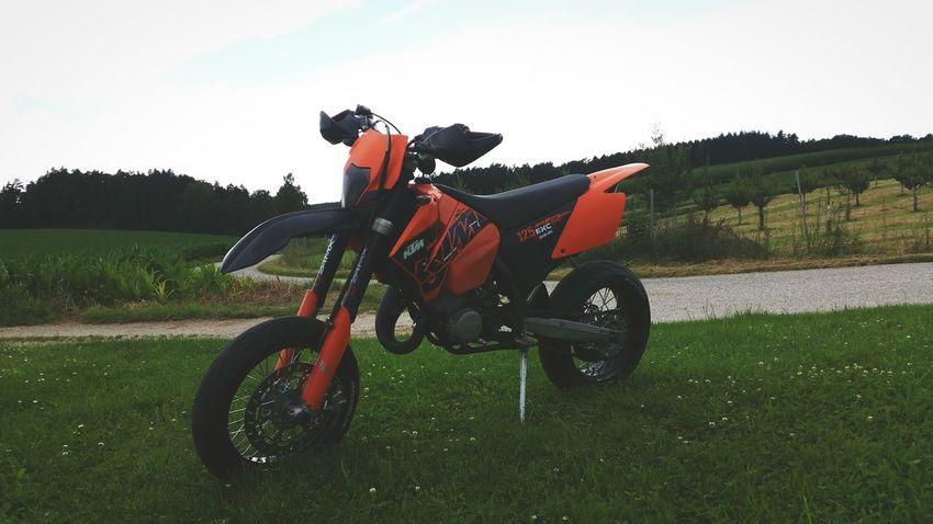 My new Bike 😍 KTM125EXC_Supermoto Mybikes