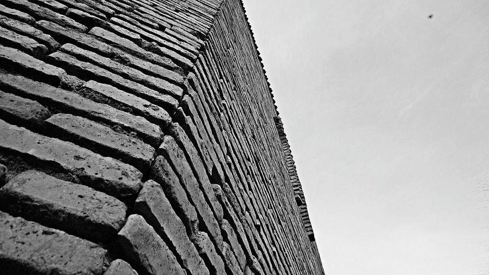 Brickporn Brick Wall Architecture_bw Architectural Detail ArchiTexture Black And White EyeEm Best Shots - Black + White