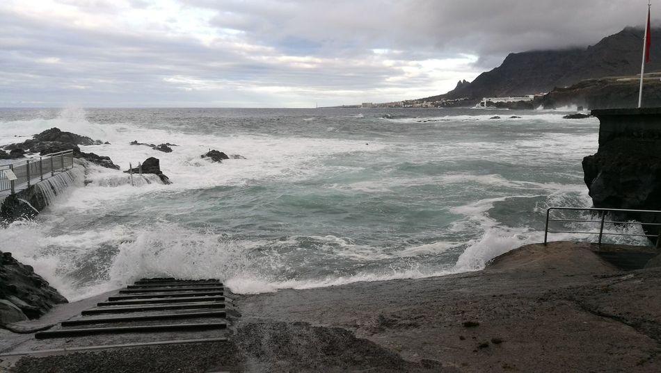 Naturaleza🌾🌿 Tenerife Lugares Con Encanto Mar Sea Horizon Over Water Paisajes Oceans