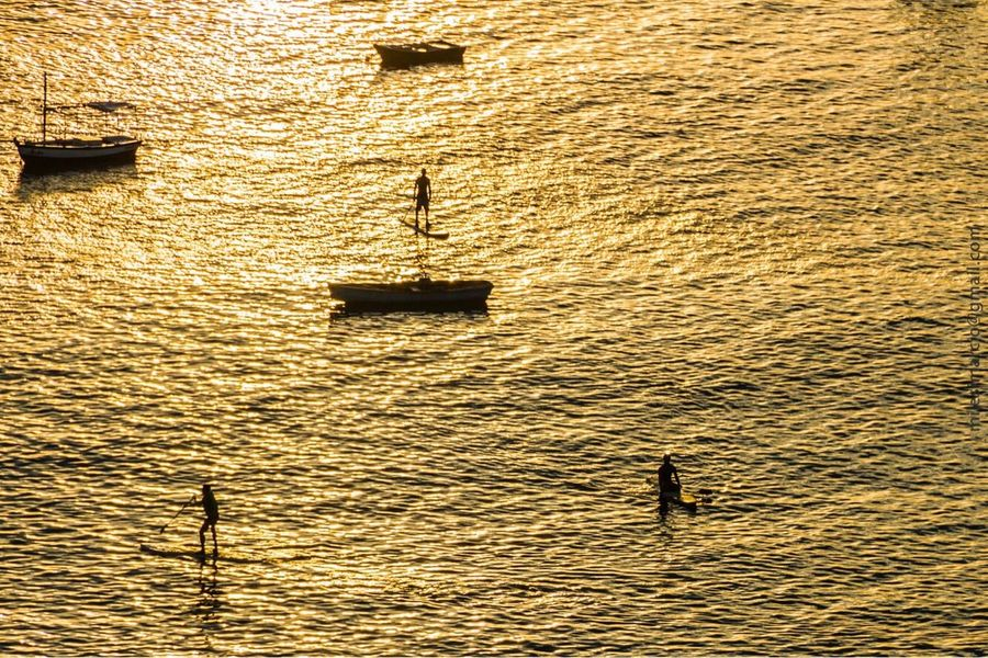 Water Nautical Vessel Mode Of Transport Outdoors Day Transportation High Angle View Nature Real People Waterfront Rippled Silhouette Rowing Sunset Gondola - Traditional Boat Gondolier Beauty In Nature Architecture Sculling Faroldabarra Bahia Salvador Brazil