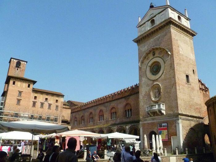 Mantua Mantova Piazza Sordello Travel Photography