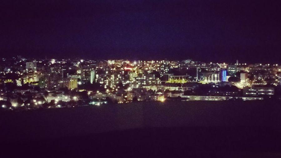 Amazing View Night Lights Beautifulplace City Lights Last Night Withmyfriend