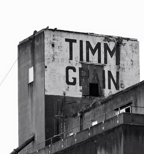 Industrial times past Built Structure Outdoors Goole Industrial Building  Building Exterior No People Architecture Blackandwhite Photography Flour Mill Industrial Decay