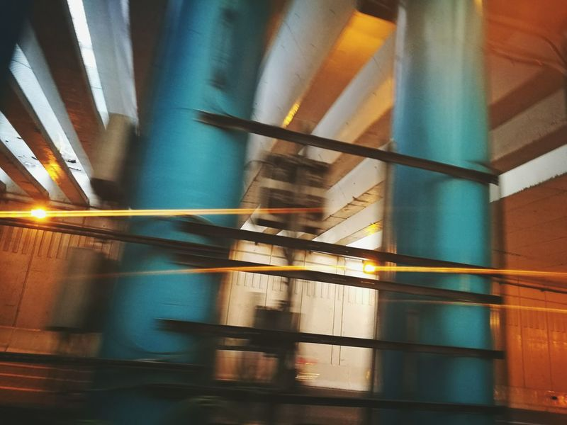 Motion Photography Radar Control Drivingshots Built Structure Architecture No People Night Illuminated Tunnel Of Light Car Travel Travel Photography HuaweiP9 The City Light