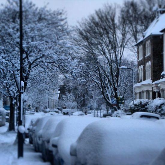 Snow in SouthLondon circa 2009 Heavysnow London Winter