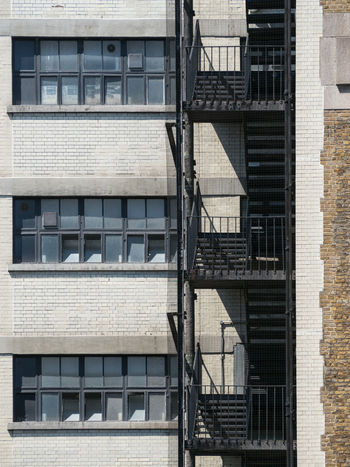The Power of Three 3 Recursion Apartment Architecture Building Building Exterior Built Structure Day Fire Escape Minimalism No People Outdoors Pattern Patterns Power Of Three  Railing Repeating Patterns Repetition Residential District Safety Security Staircase Steps And Staircases Three Window The Architect - 2018 EyeEm Awards