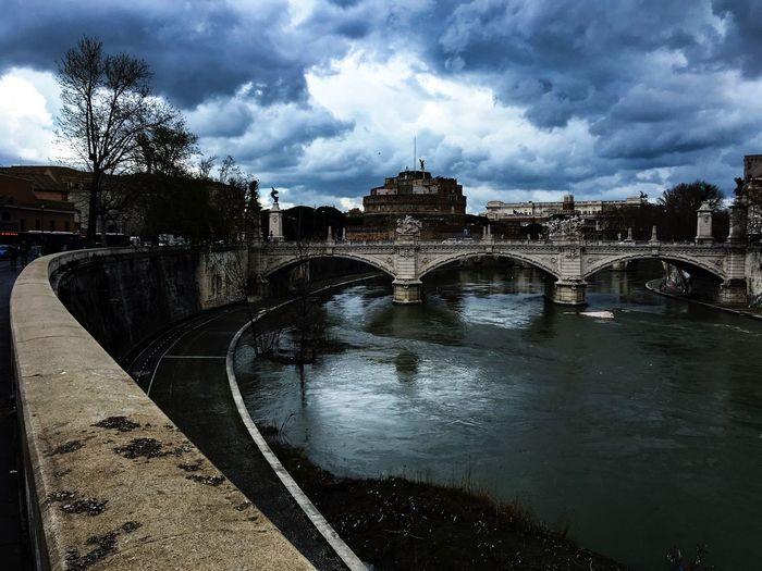 Mausolée de Auguste - Rome Roma Rome Subura Connection Building Exterior River City No People Travel Destinations Travel Bridge - Man Made Structure