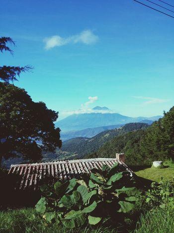 Realmente amo los paisajes de Guatemala