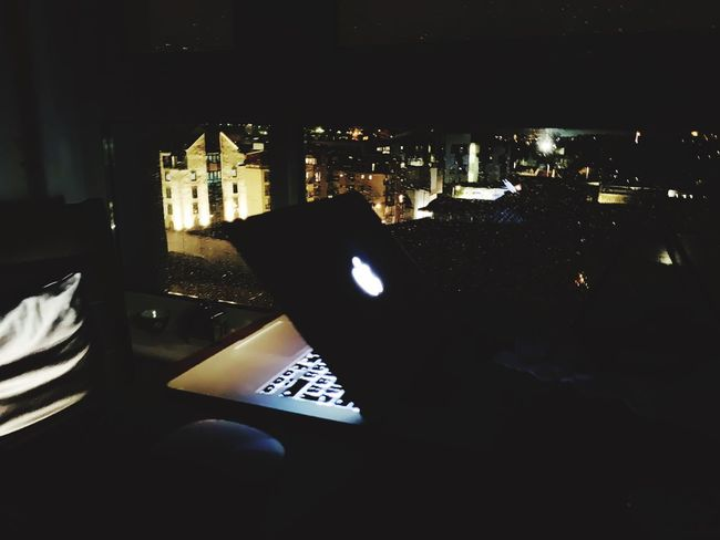 Night Architecture Indoors  Built Structure Illuminated No People Window Communication High Angle View Cityscape Paper Business Nature Close-up Dark Silhouette City Table
