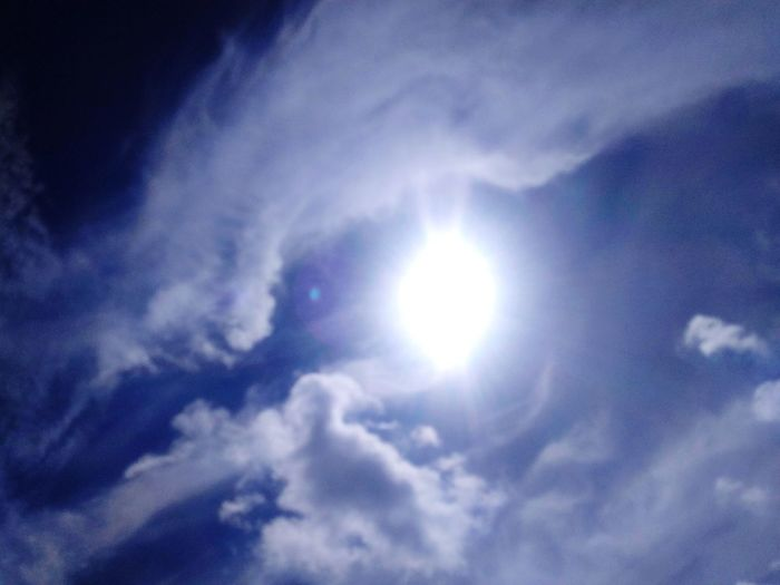 sun, clouds, and the sky Sun Sunlight Sunny Day Sunlight ☀ Space Backgrounds Blue Sky Only Sunlight Weather Sky Cloud - Sky