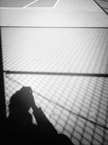 Shadow Blackandwhite Somwhere That's Me