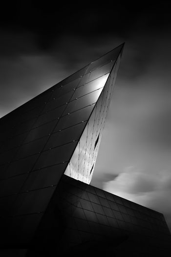 Abstract Abstract Photography Angles Architecture Black And White Close-up Day Fine Art Photography Futuristic Infrared Lines Long Exposure Low Angle View Marina Bay Sands Modern No People Outdoors Shiny Sky Smooth