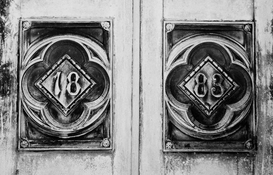1883 doors Oakland Cemetery, Atlanta Georgia Abstract South ATL 18 83 1883