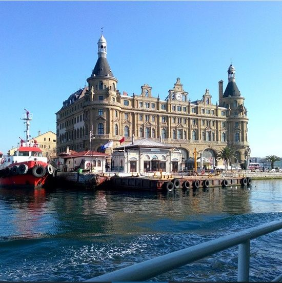Istanbul Turkey Haydarpasa Train Station Istanbullovers Yaşamdankareler Hello World Enjoying Life Sea And Sky Tagsforlikes