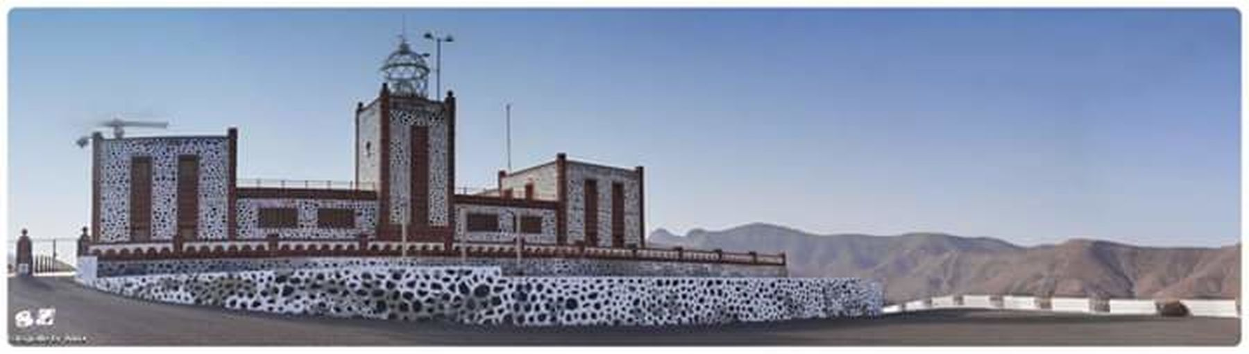 Fuerteventura Canary Islands Faro Las Playitas Archtitecture Faro De Entallada Lighthouse Tuineje