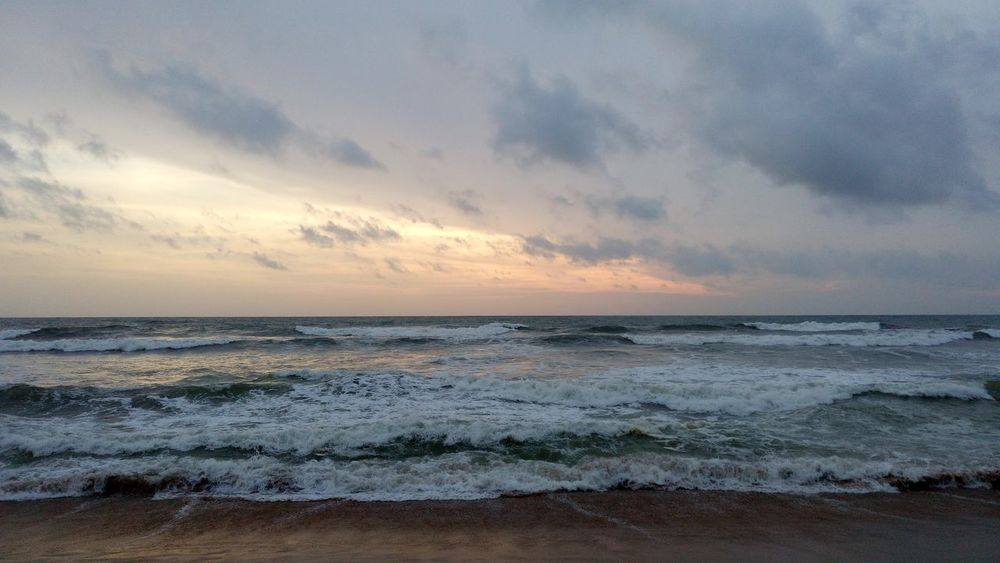 Indian ocean Beach Sea Sunset Sand Nature Water Sky Beauty In Nature Landscape Vacations Outdoors