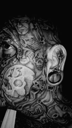 Me and my art in ear gauge size 25mm 1'inch tunnel taken at night may 1st of 2016. Art Collection EyeEm First Eyeem Photo Eye4photography  Eyemphotography Tattoomodels Selfie Time Selfie✌ Selfie😎 Filtered Image Tattoo ❤ Ear Plugs Jewelry Photography Self Portrait Ear Gauge Body Modification