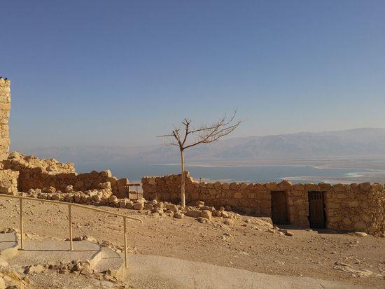 Masada Isreal  top of masada