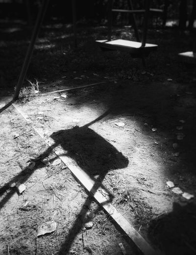 Shadow Day Outdoors No People по утру Child Real Life Summer Light And Shadow