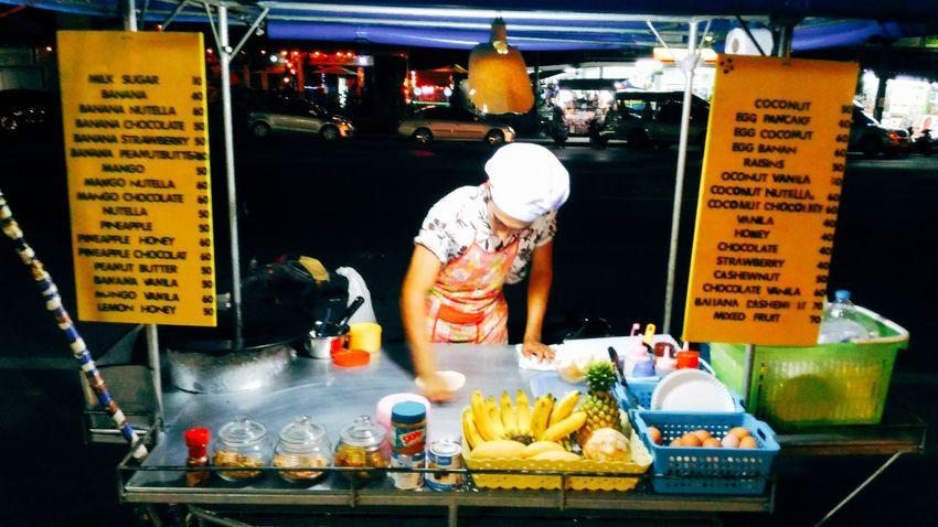 Show Us Your Takeaway! Thai street food, Thai pancake, coconut pancake