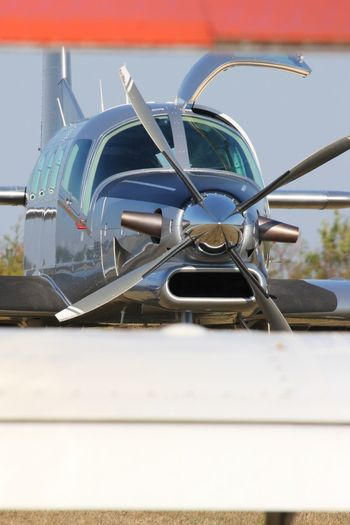 PAC 750 XL Air Vehicle Airplane Day Mode Of Transport No People Outdoors Propeller Propeller Airplane Sky Transportation