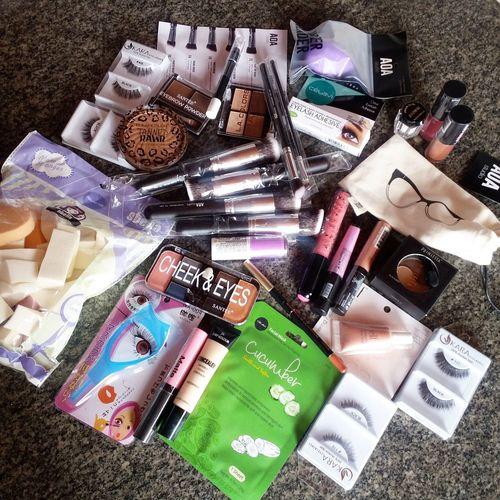 Make up Large Group Of Objects Multi Colored Abundance Makeup Make-up