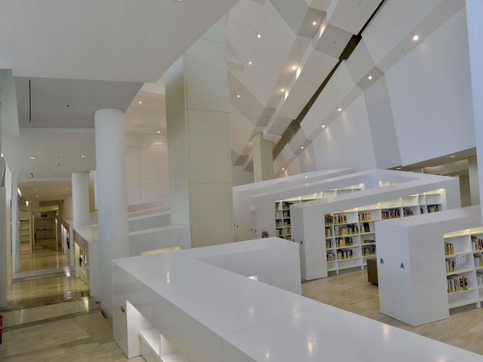 Interior of modern building at home