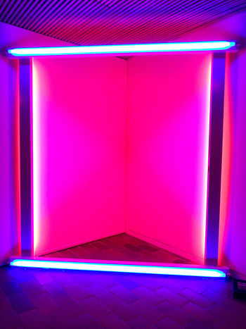 Luisiana Museum, Sweden Photography Museum Minimalism No People Indoors  Colors Neon Composition Light
