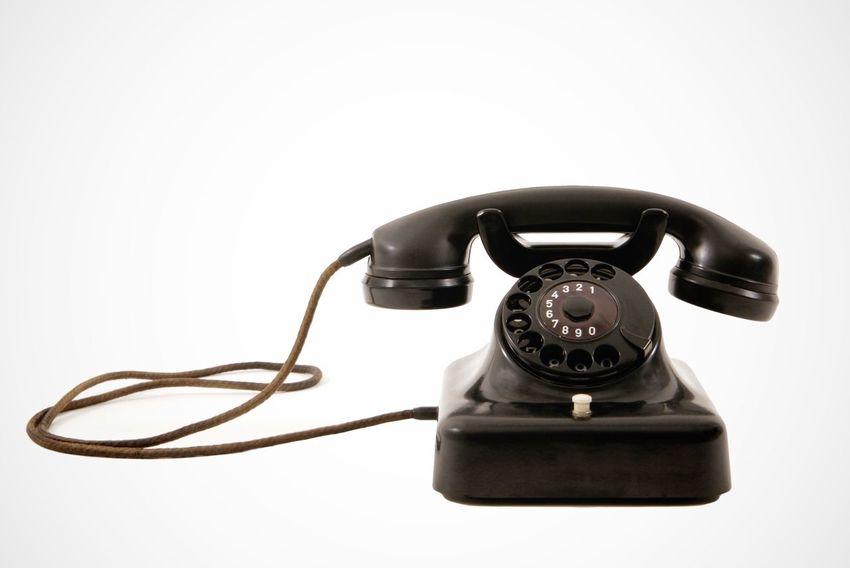 Retro phone Telephone Phone Vintage Old Retro Retrophone Retro Phone White White Background Telefon Rotary Phone Bakelite