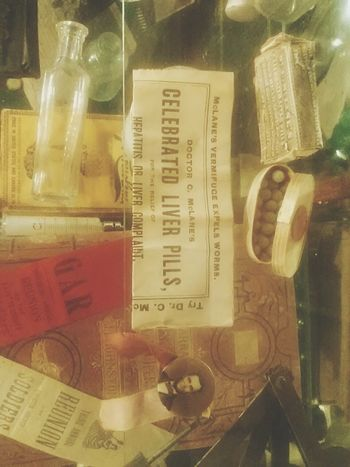 Old Things Medical Science PILLSNPOTIONS Drugs Vintage Antique
