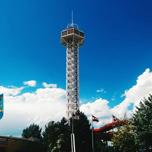 An Elitches kind of day. Vscocam Elitchgardens Sunnyday Denver Colorado