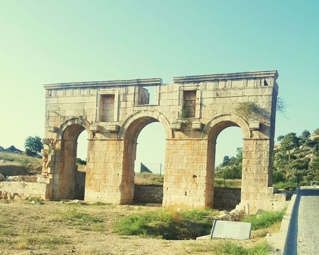 Patara Antalya Antik Kent Kapı Sehirkapisi Sky Architecture Built Structure