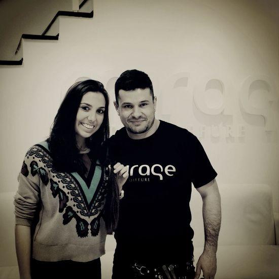 Rafael Ramos com Mariana Alves. Doaçãodecabelo Cabelaço Miragepadrechagas