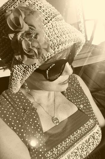 Evening Sun Summertime 2017 Vintage Hats Outdoors Thoughtsbubble