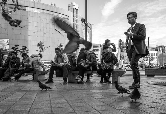 South Korea Seoul Capturing Movement The Traveler - 2015 EyeEm Awards The Fashionist - 2015 EyeEm Awards Streets Of Seoul Before Mers People With Smartphones My Smartphone Life The Portraitist - 2015 EyeEm Awards Mobile Conversations Mobile Conversations