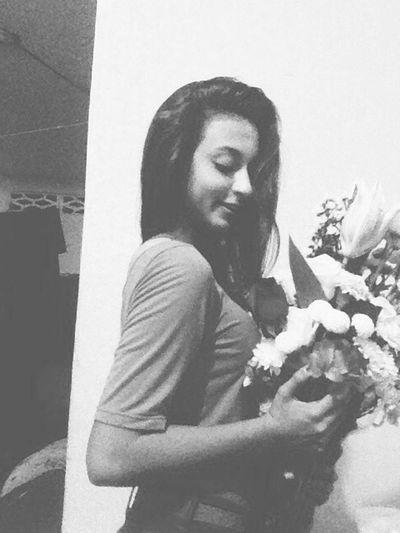 Flowers My Boyfriend ❤ Hello World That's Me