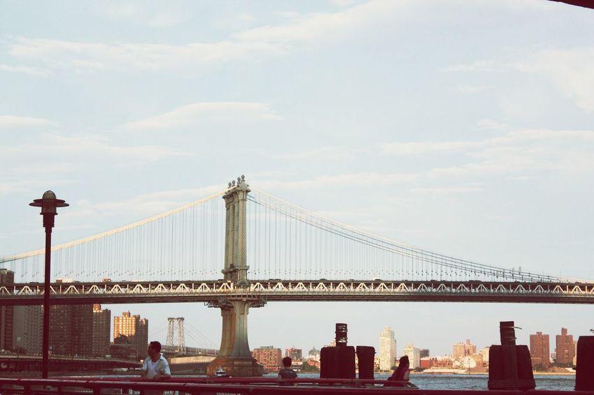 Hanging Out Check This Out Taking Photos Newyorkcity Brooklyn Bridge / New York Enjoying Life Likeforlike Sunny Day EyeEmBestPics Peoplephotography
