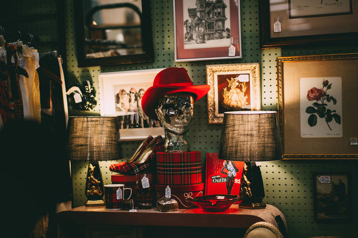Retro Styled Indoors  Old-fashioned Store Red No People Day Redhat Photographerinlasvegas Evanscsmith Vintage Photo Vintagestyle Vintagestore