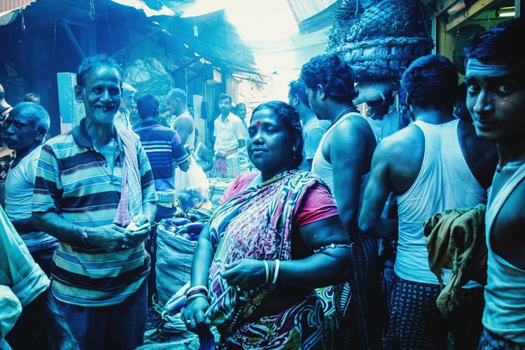 India Urban Colorful Blue City Market Eye4photography  Illuminated The Week Of Eyeem ASIA Check This Out Street Streetphotography Documentary Travel Photography Colours Journey VSCO Kolkata Vscocam EyeEm Best Shots City Life Food