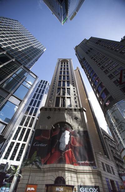 Building Exterior Buildings EyeEm Hong Kong Hong Kong Perspective Tall - High