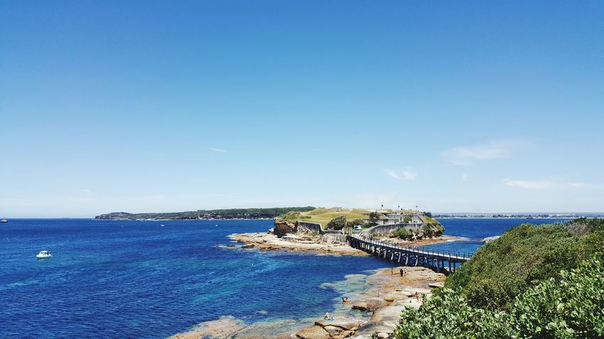 soooooo coool New South Wales  Sydney Beach Bare Island La Perouse Sea Water Horizon Over Water Blue Outdoors Sky Beach Day Scenics Nature Clear Sky Beauty In Nature