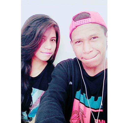 With my Friend :) ..