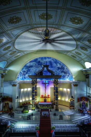 St. Peter Parish Church (Shrine of Leaders) Architecture Built Structure Ceiling Indoors  Church Faith Devotion Worship Place Parish Church Kulotitay Clicks