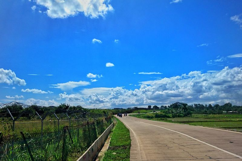 Journey.. Colour Your Horizn Cloud - Sky Sky Landscape Road Scenics No People Outdoors Nature Beauty In Nature The Way Forward