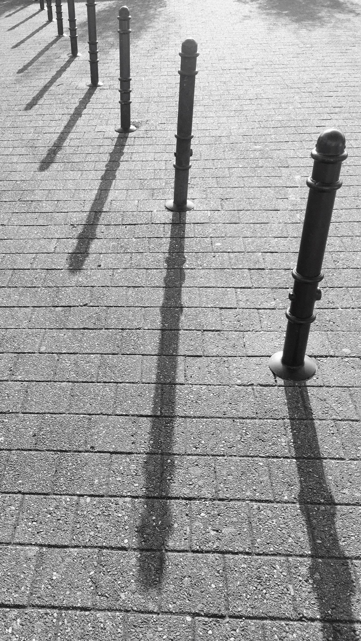 sunlight, shadow, high angle view, day, long shadow - shadow, outdoors, no people